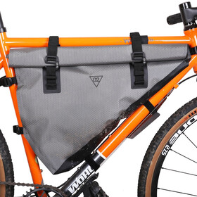WOHO X-Touring Borsa da telaio L, honeycomb iron grey